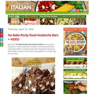 The Slow Roasted Italian