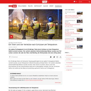 ArchiveBay.com - www.rbb24.de/panorama/beitrag/2020/02/tempodrom-berlin-toter-verletzte-schuesse-polizei-.html - Ein Toter und mehrere Verletzte nach Schüssen am Tempodrom - rbb24