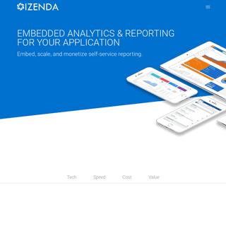 Izenda - Embedded BI & Analytics Platform