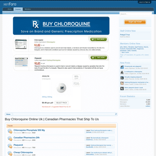Chloroquine Phosphate 500 Mg - Certified Online Canada Pharmacy