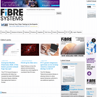 Fibre Systems - For professionals in the optical communications industry