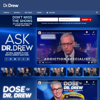 Dr. Drew Official Website - drdrew.com
