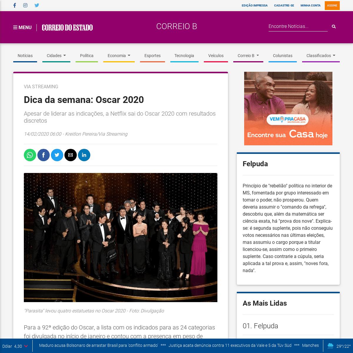 ArchiveBay.com - www.correiodoestado.com.br/correio-b/dica-da-semana:-oscar-2020/367592 - Dica da semana- Oscar 2020