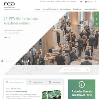 Home - Fachverband Elektronik-Design (FED) e.V.