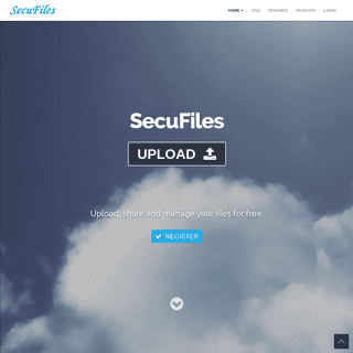 Upload Files & Share Files For Free - SecuFiles