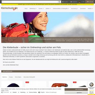 Klettershop für Profi-Kletterausrüstung » Kletterbude.de - kletterbude.de