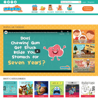Mocomi-Fun Learning Website for Kids–Discover, Explore, Play