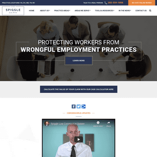 The Spiggle Law Firm – Northern Virginia Employment Law Attorney