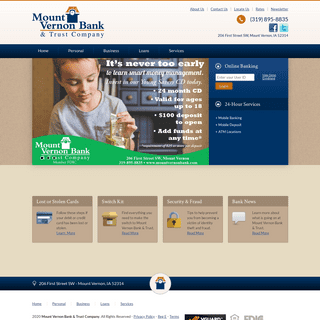 ArchiveBay.com - mountvernonbank.com - Mount Vernon Bank & Trust Company - Your personal banking business banking and loan solution in Mount Vernon