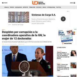 Despiden por corrupción a la coordinadora operativa de la GN; la mujer de 12 doctorados - Línea Directa