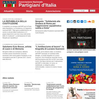 ANPI - Associazione Nazionale Partigiani d'Italia