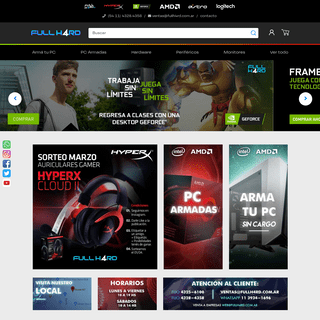 FullH4rd - La tienda Gamer #1 de Argentina