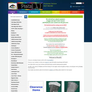 PlazaDJ - Paper, Card, Envelopes, Click Seal & Cello Bags