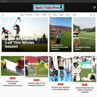 Sports Vision News – Sports Blog