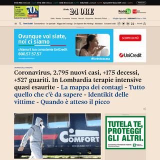 Il Sole 24 Ore- notizie di economia, finanza, borsa, fisco, cronaca italiana ed esteri - Il Sole 24 ORE