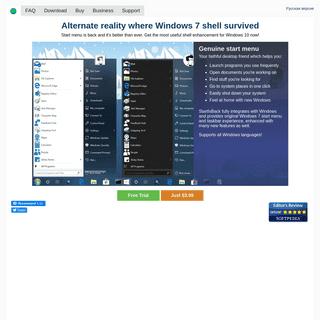StartIsBack- real start menu for Windows 8 and Windows 10