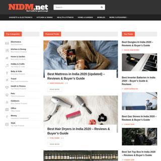 NIDM - Don't Settle for Good Enough