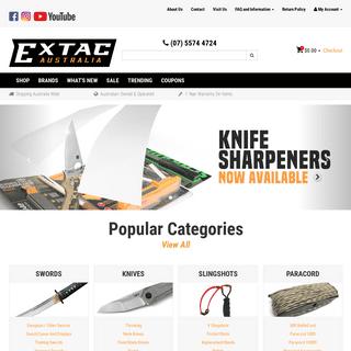 ArchiveBay.com - extac.com.au - Online Survival Supplies Store - Buy Outdoor and Survival Gear Australia Wide