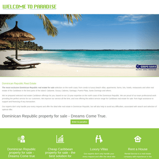 Dominican Republic Real Estate Vico-real-estate - Villas, property, homes, condos and land for sale in Sosua, Cabarete, Puerto P