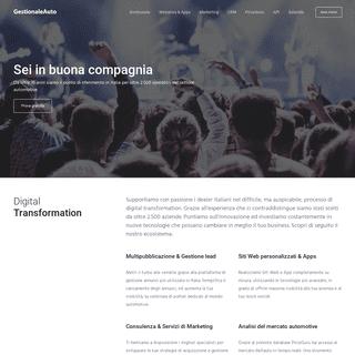 GestionaleAuto.com - Il tuo partner per la Digital Transformation