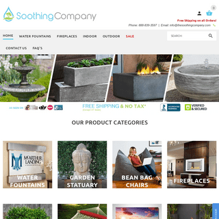 Soothing Company - Relaxation Products For Your Mind, Home and Garden