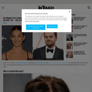 Who Is Camila Morrone- Get to Know Leonardo DiCaprio's Girlfriend
