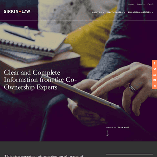 Co-Ownership Resources & Services – SirkinLaw APC