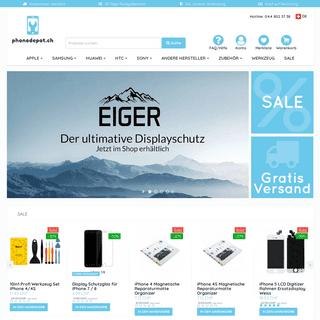 phonedepot.ch Onlineshop für Handyzubehör & Ersatzteile - phonedepot.ch
