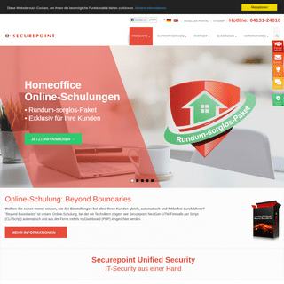 Securepoint Security Solutions - IT-Security Made in Germany