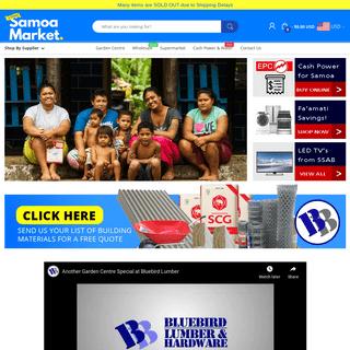 Samoa's Online Shopping Marketplace – Samoamarket.com