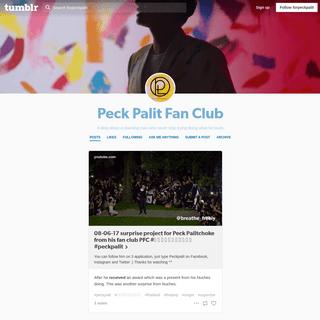 Peck Palit Fan Club