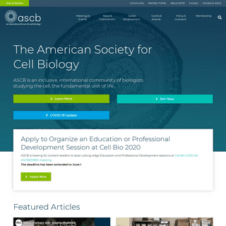 The American Society for Cell Biology
