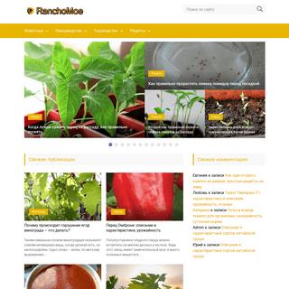 A complete backup of ranchomoe.ru