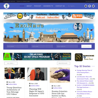 Exo News - Exopolitics Institute News Service