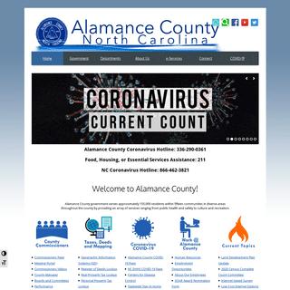 ArchiveBay.com - alamance-nc.com - Alamance County, North Carolina