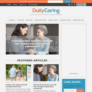 Tips and Help for Caregivers - DailyCaring