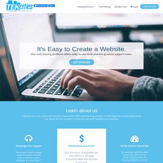 Tekcities.com - Free Web Hosting
