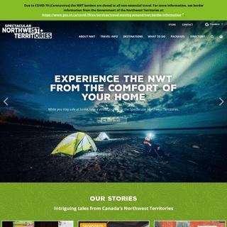 ArchiveBay.com - spectacularnwt.com - Home - Spectacular Northwest Territories