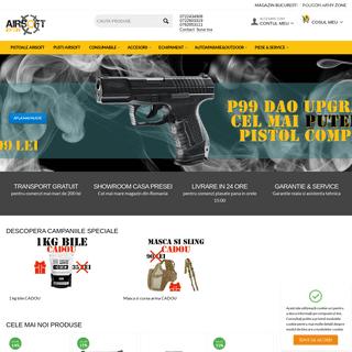 AirSoft Ieftin - Magazin Bucuresti arme airsoft cu bile, pistoale, pusti, echipament tactic si accesorii airsoft