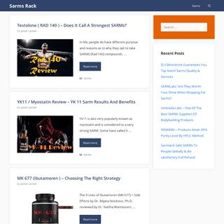 Sarms Rack - Buy Sarms Online