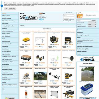 AKCIJAS - Semikom interneta veikals, elektroniskās komponentes, Farnell piegādātājs, fluke