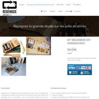 Rejoignez la grande étude sur les piles alcalines - Regen Box