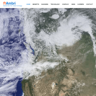 Batteries for clean energy- Ambri