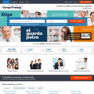 Bolsa de trabajo Argentina - Portal de empleo Líder en Argentina