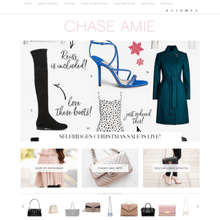 Chase Amie - A luxury fashion, accessories and lifestyle blog