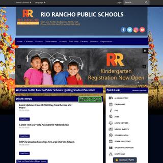 Home - Rio Rancho Public Schools