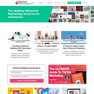Influencer Marketing - #1 Platform, Agency & Influencer Resources