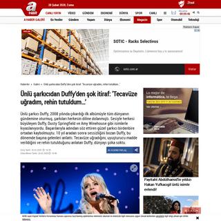 Ünlü şarkıcıdan Duffy'den şok itiraf- 'Tecavüze uğradım, rehin tutuldum…' - Son Dakika Magazin Haberleri