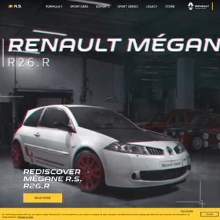 Home - Sites sport automobile du groupe Renault - renaultsport.com