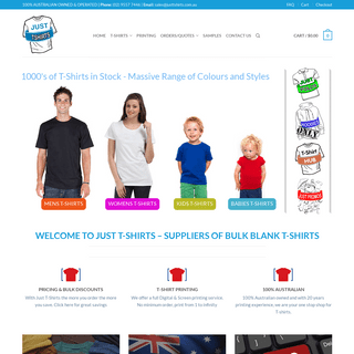 Major Australian-China Factory Direct Importer of Bulk T-shirts